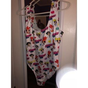Powerpuff girls bodysuit